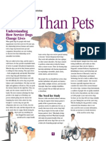 More Than Pets Understanding How Service Dogs Change Lives