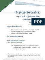Acentuacao Grafica Regras Basicas Proparoxitonas, Paroxitonas, Oxitonas E Monossilabos