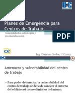 Planes de Emergencia Para Centros de Trabajo 2
