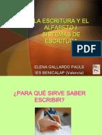 ESCRITURA Y ALFABETO.pps