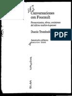 135874396 Conversaciones Con Foucault