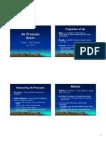 air pressure notes