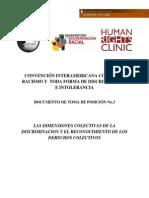 Dimensiones Colectivas de La Discriminacion y Derechos Colectivos