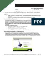2.- Configurar Cliente Inalambrico
