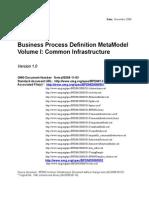 Business Process Definition MetaModel