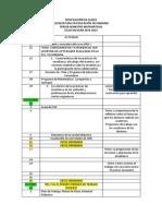 DOSIFICACIÓN DE CLASES 2013-14