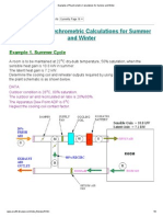 Examples of Psychrometric Calculations for Summer and Winter.pdf
