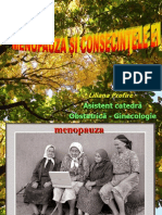 Menopauza şi consecinţele ei