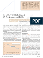 IR DROP in High-Speed IC Packages and PCBs