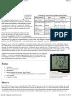 Grau Celsius – Wikipédia, a enciclopédia livre