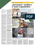 Reportaje sobre los inmigrantes españoles en el Perú