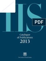 IIS Catalogue of Publications 2013