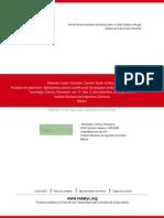 Procesos de separación- Aplicaciones para la cuantificación de biogases producidos en reactores anae