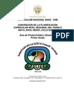 Productividad y desarrollo Primer grado básico marilú 4112