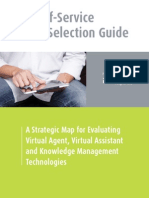 Web Self-Service Vendor Selection Guide