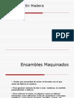 Uniones Madera