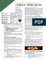 Newsletter 05 November 13.
