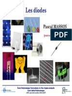 Diodes Cours - Impression - MASSON