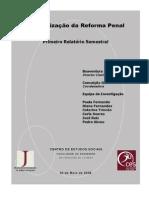 Monitorizacao Reforma Penal