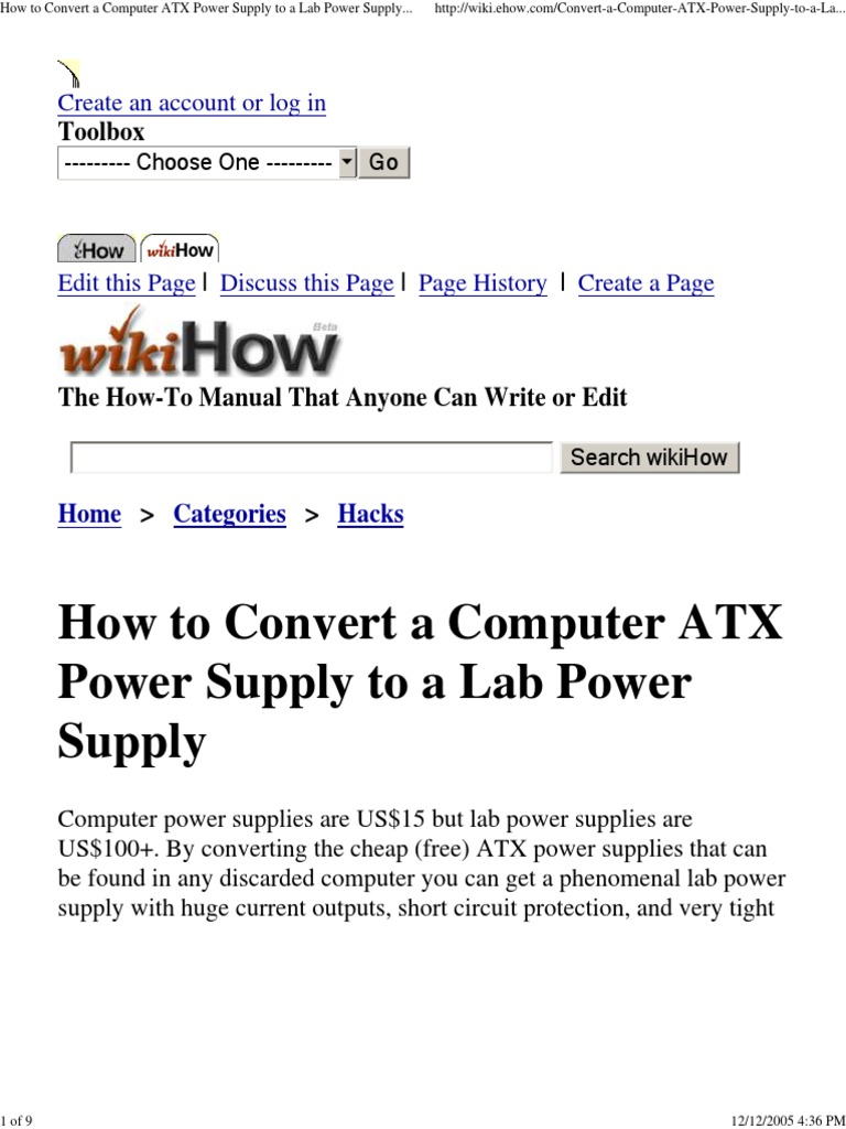 Delighted Computer Power Supply Outputs Ideas - Simple Wiring ...
