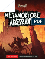 Metamorfose aberrante