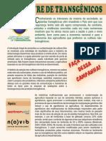 CAMPANHA POR UM BRASIL LIVRE DE TRANSGÊNICOS
