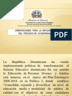 ORIENTACIONES  PARA  EL PROCESO DE  ACOMPAÑAMIENTO [Autoguardado]