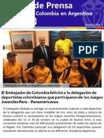 Boletin 2 Octubre 2013 Embajada de Colombia en Argentina