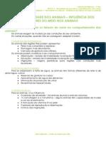 1.5 - Diversidade dos animais - Influência dos fatores do meio nos animais - Ficha Informativa