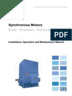 WEG Synchronous Motor Brushless