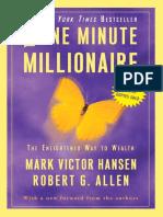 One Minute Millionaire by Mark Victor Hansen and Robert G. Allen - Excerpt