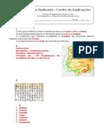 1.1 Teste Diagnóstico  - Ambiente natural e primeiros povos (3) - Soluções