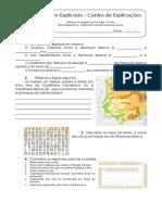 1.1 Teste Diagnóstico  - Ambiente natural e primeiros povos (3)