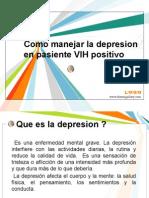 Como Manejar La Depresion en Pasiente VIH Positivo