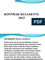 Kontrak Kuliah Ftl Umm13