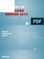 Moving to Exchange Server 2013