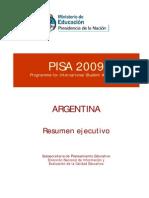 PISA 2009. Informe Nacional, 2011.