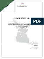 Trabajo Lider Sindical - Alberto Hurtado SI1
