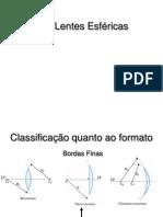Slides de Lentes Esféricas e Ametropias