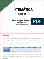 AULA 02 - M - MATEMATICA - Mltiplos e Divisores