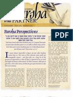 Parsha Patners Ekev 2009