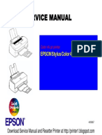 EPSON Stylus Color 440-640-740 Manual de Servicio