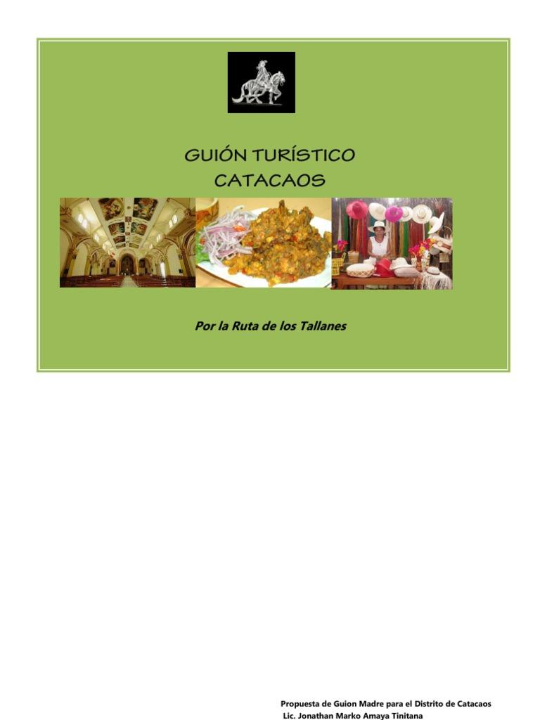 Guión Turistico Catacaos (Final) 92f15717e89
