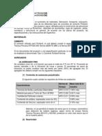 Especificaciones Tecnicas de CONCRETO2