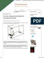 Olhar Comportamental - Design & Tecnologia Condicionamento Operante