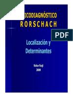 Localizacion en Rorschach