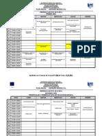 Horarios ANUAL 2013-2014. Modelo A