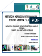 10. Situaci n Del Riesgo de Desastres en Colombia IDEAM