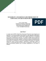 Dejke- Durability GFRP