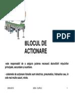 curs actionari hidraulice